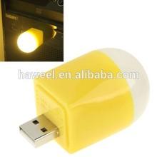 M2 USB Warm White Light LED Light Bulb / USB Connector