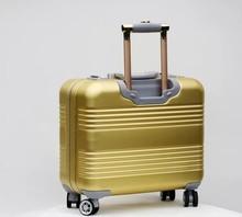 100% aluminum trolley case, luggage , bag
