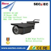 1.0 Megapixel Low Lux Network Bullet 720P IP security Camera
