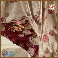 fabric curtain wholesale , jacquard curtain fabric, hometextile curtain fabric