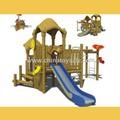 Atraente Arcade de madeira ao ar livre equipamentos de Fitness