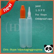 hot sell 1oz eliquid pen dropper bottle mixed colors child security caps long dropper