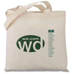 High quality! Blank Cotton Tote Bag from WVSCM