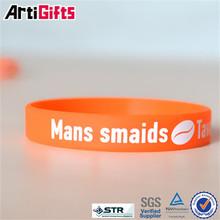 100% quality control fashional a full range of sizes silicone wristband