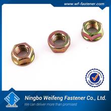 China supplier hexagonal nut carton steeel C1022 ,white zinc-0304-04carton packing hex nut