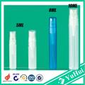 atomizador de perfume de plástico , Mini envase de viajes para cosmética recargable o botella de médica, rociador de perfume de aerosol