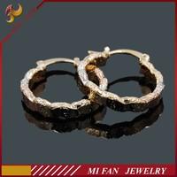 Wholesale Imitation Jewellery 18K Gold Earring Designs Indian Earrings