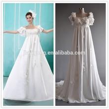 New 2015 women wedding dresses for pregnant brides
