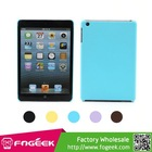 Slim Leather Texture Protective Hard Case Cover for iPad Mini