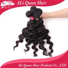 cheap 100% unprocessed virgin pure brazilian bouncy curl curly human hair weaving