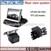 """3.5 Inch Monitor Car Rear View Kit 3.5"""" Small Car Camera"""