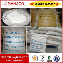 Best quality low price soda ash dense 99.2 professional manufactory with SGS/BV certificate