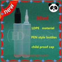 Brand new dropper bottle craft 15/30ml e juice bottles 15/30ml LDPE SOFT dropper bottle Perfume empty pen style 30ml
