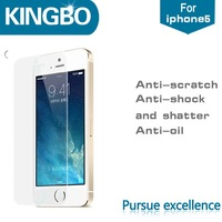 Factory cheap for iphone 5s screen protective film for mobile phone