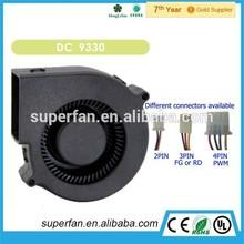 HLX DC Fan 12v Axial DC Fan waterproof Blower fan IP55 IP68 40mm 50mm 60mm 70mm 80mm 90mm 120mm