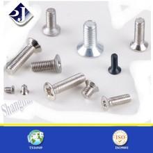zinc plated countersunk head pozidrive screw