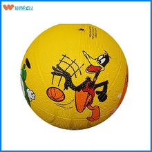 2015 professional 10 panels rubber basketball