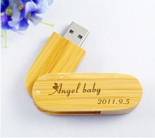 wood twister usb with engrave logo,Natural wooden usb flash drive