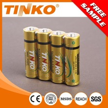 Size AA LR6 Super Alkaline Premium battery without mercury and cadmium 4pcs/blister card