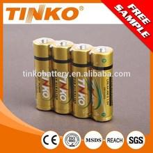 Size AA LR6 Super Alkaline Premium battery without mercury and cadmium 4pcs/blister card