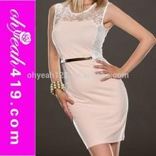 Nuevo diseño para mujer vestido de la oficina 2015 para mujer vestido de traje