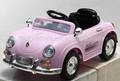 รุ่น802ที่สองมอเตอร์สองแบตเตอรี่รถยนต์ไฟฟ้าสำหรับเด็ก, เด็กนั่งบนรถในสีชมพู