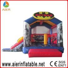 2016 batman inflatable combo for sale, batman jumping castle