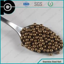 Stainless Steel Balls In Zinc Nickel Brass Antique Copper Plating Finish