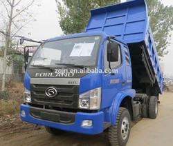 Diesel Engine Vehicle Right Hand Drive FOTON 2 Ton Dump Truck