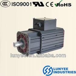 Energy saving sewing machine servo motor