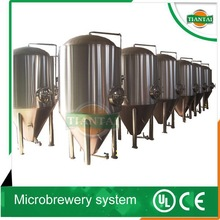 30 barrel glycol jacket fermenters alcohol beer processing beer draft machine