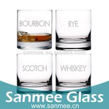 Hot Sales Personalized Customization Logo Round Bottom Glassware