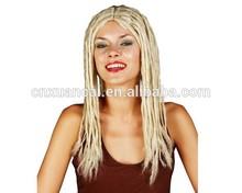 2015 New design fashion long braid synthetic hair wigs