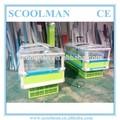 単一の島電動オート- 霜取り冷凍庫の価格