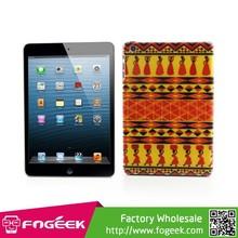 Slim Hard Case Colorful Tribal Pattern Durable Plastic Cover for iPad Mini