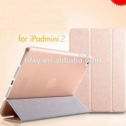 Low MOQ Sublimation Leather Flip Cover / Sublimation Leather flip case for iPad 2/3/4