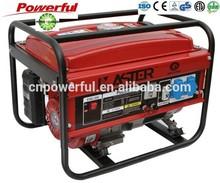 EPA,CARB,CSA,SONCAP certification electric gasoline generator 2500