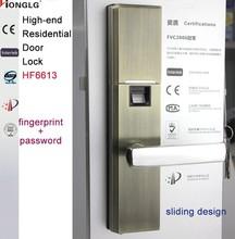 digital combination fingerprint lock touch screen