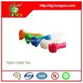 Nylon, nylon66,94v-2 Material und selbst- Verriegelung, selbst- verriegelbar kabelbinder