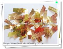 Wedding confetti , golden Printed foil confetti , party decorations
