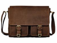 Bag Making Company Mens Leather Messenger Bag