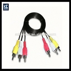 9 pin mini din to rca cable