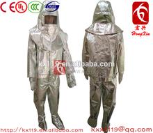 2015 New Product Aluminum Aluminized Fire Suit