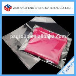 Cheap T-shirt packaging plastic bag from Weifang Pengsheng