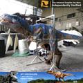 N- c- w- 933- andando com traje de dinossauro realista
