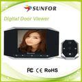vision de nuit claire de porte judas caméra vidéo sans fil