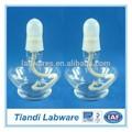 de vidrio de laboratorio de la lámpara de alcohol