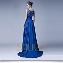 Sherny Bridals New Arrival Fashion Sexy Hijab Evening Dress