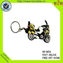custom 3d motorcycle shape wholesale keyring