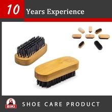 Custom Size wooden horse hair shoe brush